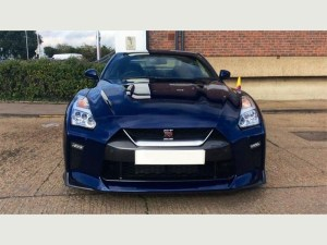 Nissan GTR supersports cars hire