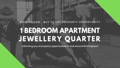 Photo of Fantastic 1 Bedroom Apartment For Sale – Jewellery Quarter