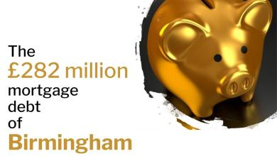 Photo of The £282 million mortgage debt of Birmingham City Centre homeowners