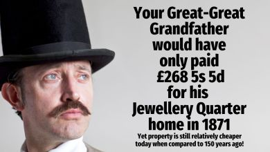 Photo of Your Great-Great Grandfather Would Have Only Paid £268 5s 5d for His Birmingham Jewellery Quarter Home in 1871