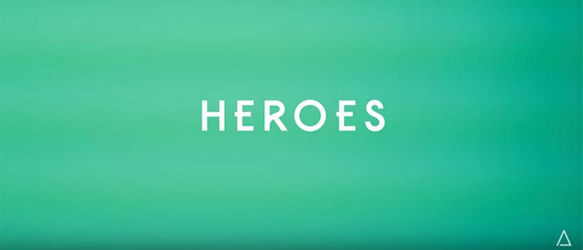 Heroes - Shatter Effect - green screen