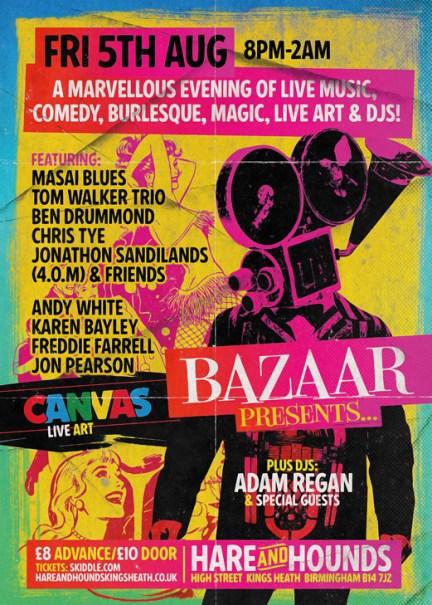 Bazaar @ Hare & Hounds 05.07.16
