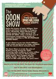 The Goon Show / Fred Theatre & Birmingham Comedy Festival