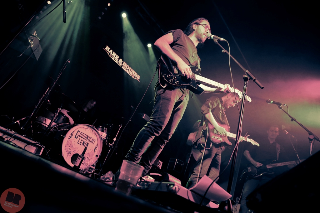Goodnight Lenin @ Hare & Hounds 11.08.15 / Michelle Martin - Birmingham Review