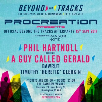 Beyond The Tracks after party (official) @ The Rainbow Venues - Black Box 15.09.17