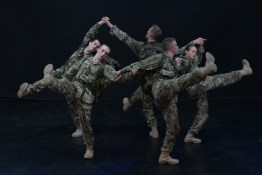 5 Soldiers - The Body is the Frontline / Rosie Kay Dance Company - production photo by Tim Cross