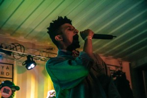 Maxi Zee - supporting KRS-One @ Hawker Yard 01.10.19 / Aatish Ramchurn - Birmingham Review