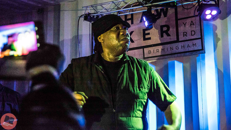 KRS-One @ Hawker Yard 01.10.19 / Aatish Ramchurn - Birmingham Review
