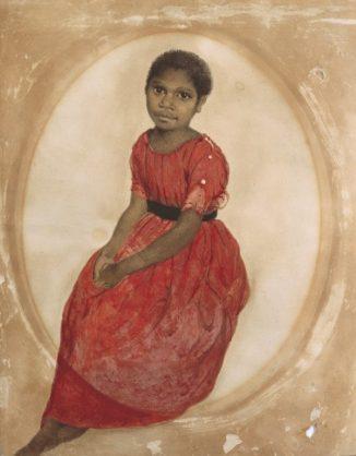 Thomas Bock - Mithina (1842) / On display at Ikon Gallery until 11.03.18