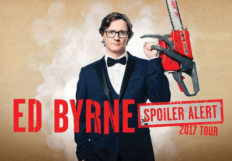 Ed Byrne – Spoiler Alert @ Town Hall 27.01.18