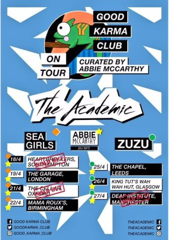 BPREVIEW: The Academic + Sea Girls @ Mama Roux's 22.04.18