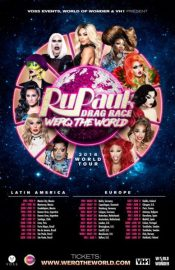 BPREVIEW: RuPaul's Drag Race Werq the World Tour @ Symphony Hall 27.05.18