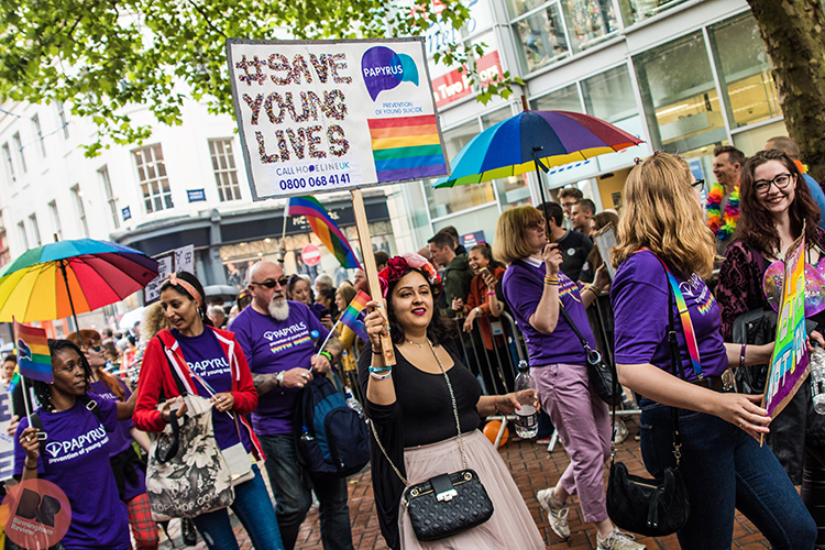 Birmingham Pride 'Be You' Parade @ 26.05.18 / Eleanor Sutcliffe