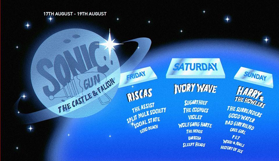 BPREVIEW: Sonic Gun Weekender @ The Castle & Falcon 17-19.08.18