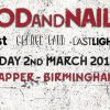 Woodf and Nail @ The Flapper - promo banner