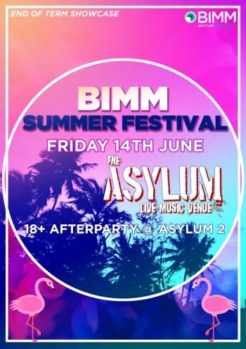 BIMM Summer Festival @ Asylum 14.06.19