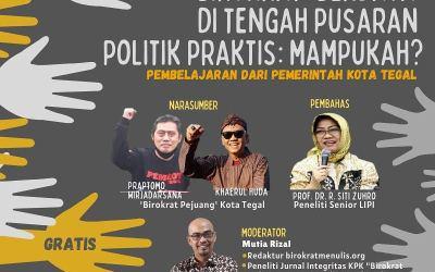 Birokrat 'Berdaya' di Tengah Pusaran Politik Praktis: Mampukah?