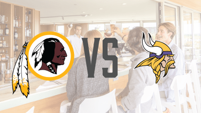 10/24 – Redskins VS Vikings