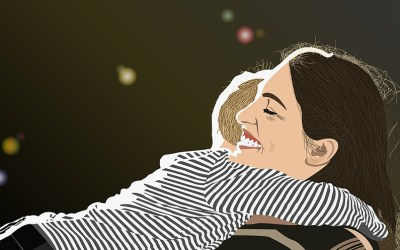 illustration-of-mom-and-child-hugging