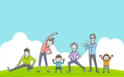 10 Activities to Get in Shape with Your Kids