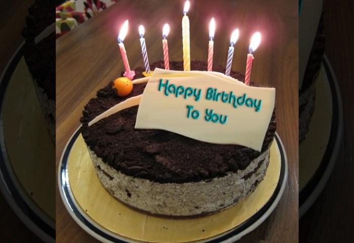 Name Birthday Cake Write Wishes On Birthday Cake
