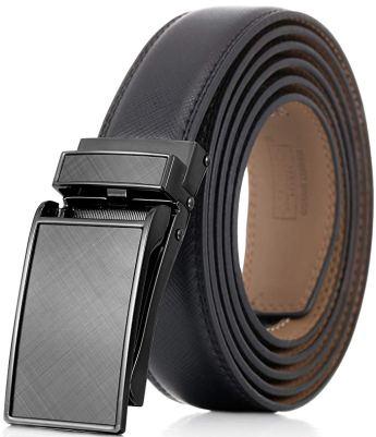 Marino Avenue Men's Leather Ratchet Belt