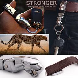 premium leather-keychain-keyholder