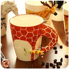 Silicone 3D Embossed Mugs Of Food Grade Quality