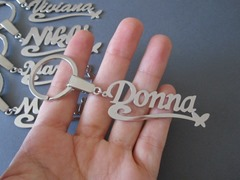 Key Chain With Names