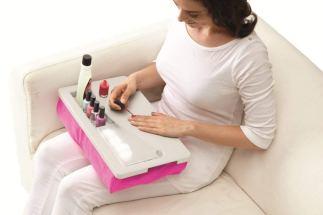 Portable Laptop Manicure Salon Tray