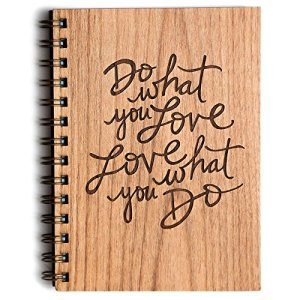 Do what you love Laser cut journal