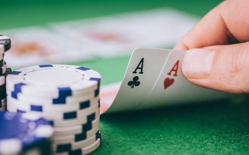 Poker decides the menu