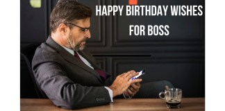 BIRTHDAY WISHES FOR BOSS