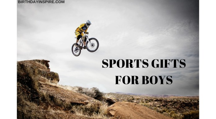 SPORTS GIFTS FOR BOYS