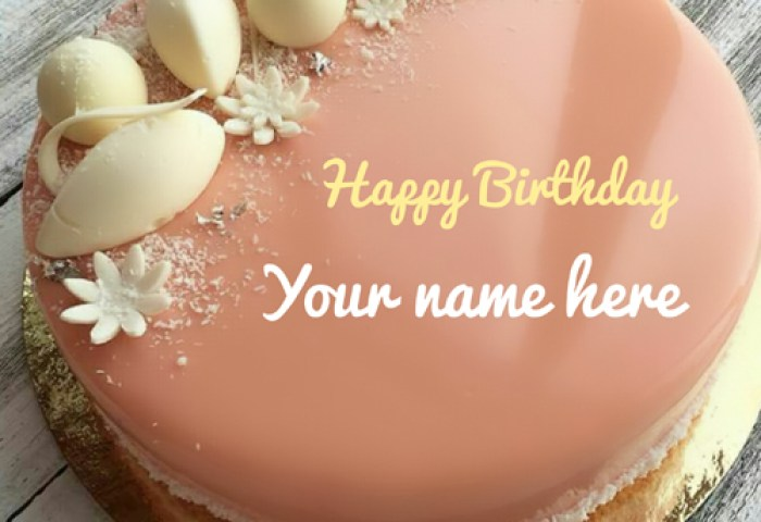 Happy Birthday To Dear Mom Special Cake With Name