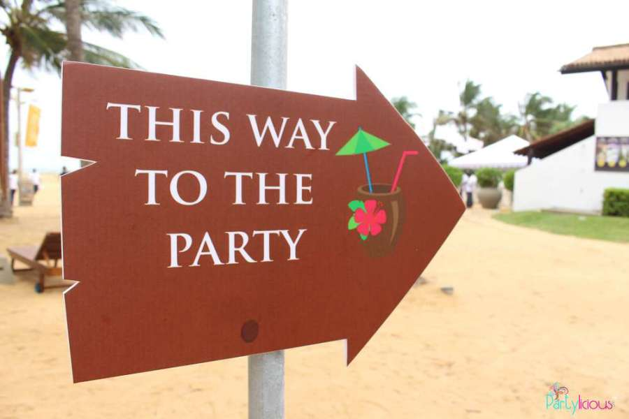 Summer Themed Bridal Shower Invitations