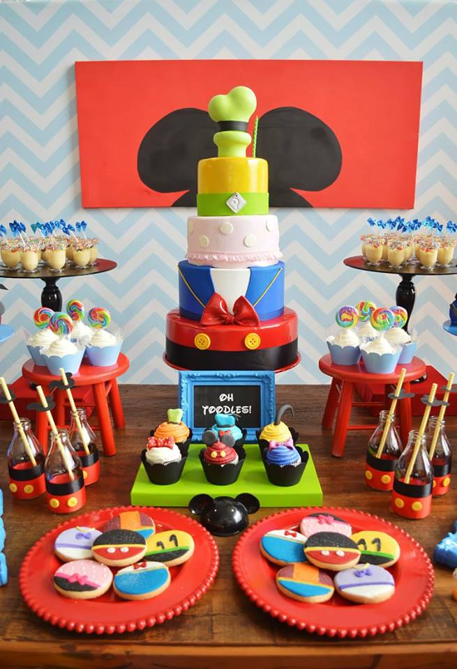 Mickey Ideas Party Clubhouse