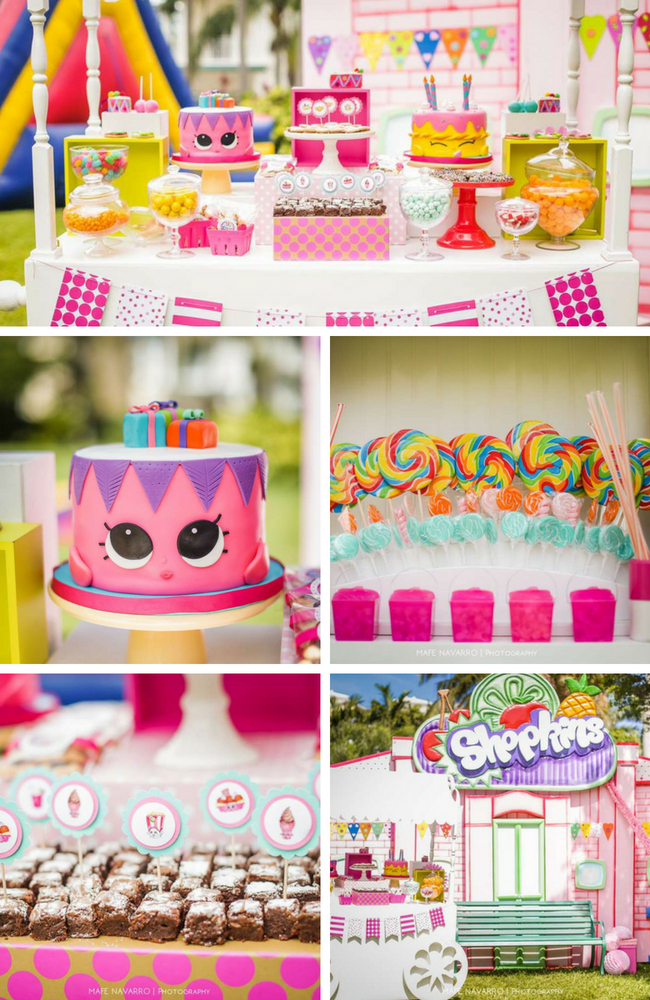 Candyland Shopkins Birthday Party