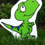 Dinosaur Lawn Ornament