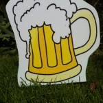 Beer Mug Lawn Ornament