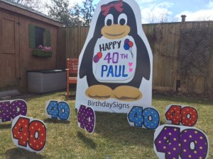 penguinand40th numbers