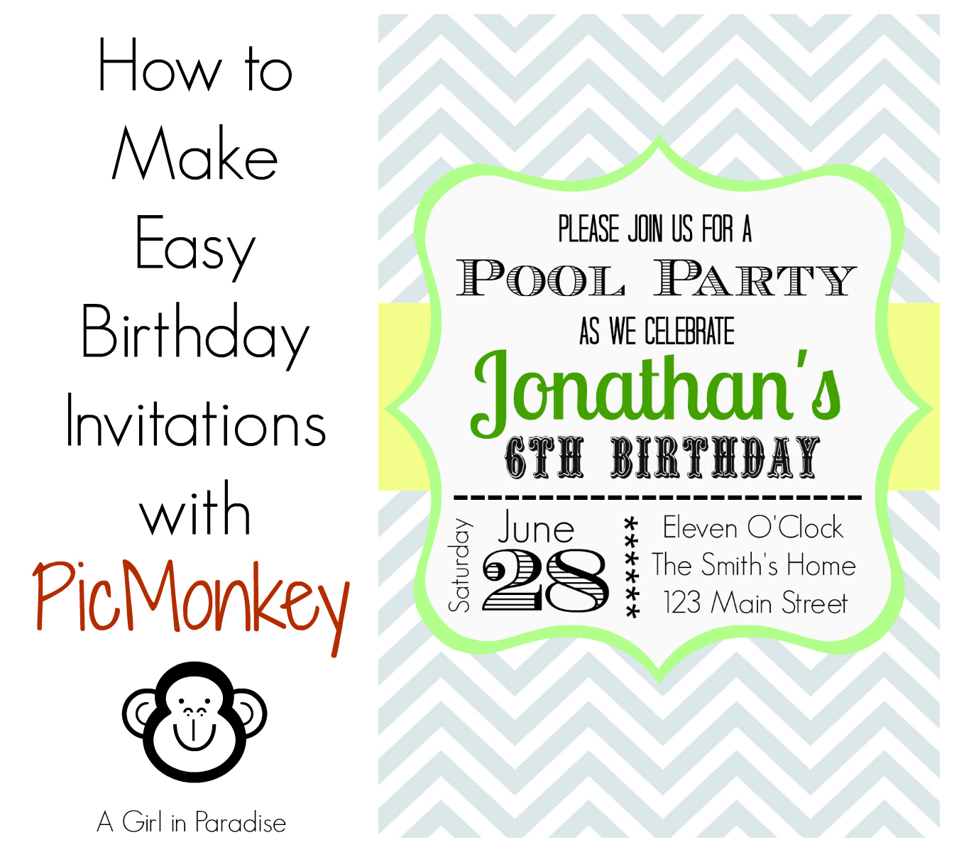 Make And Print Invitations
