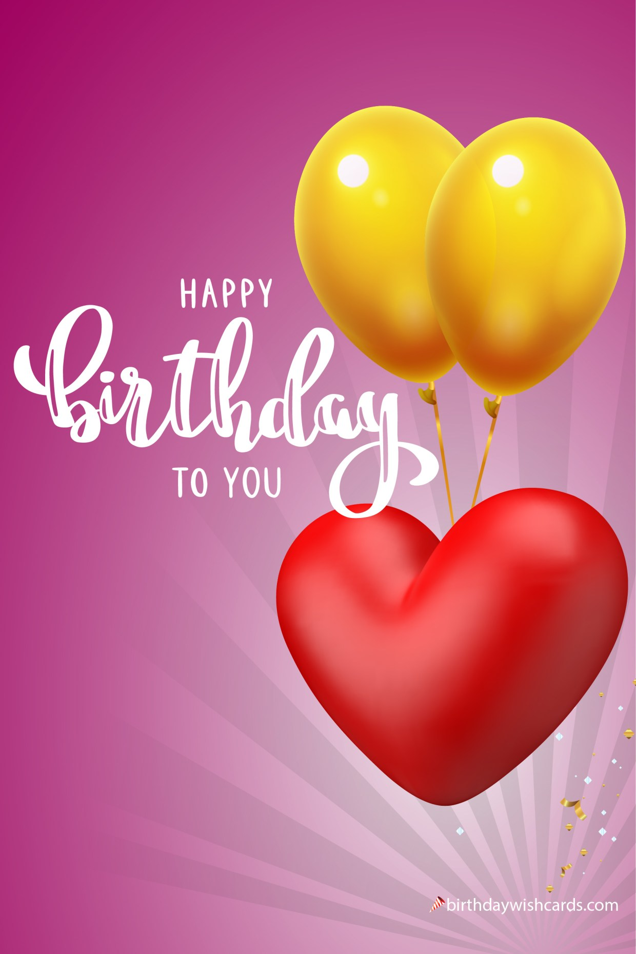 happy birthday to you for loved ones