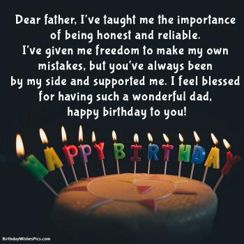 Birthday Wishes For Dad Happy Birthday Father Images