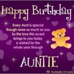 50 Birthday Wishes For Your Aunty