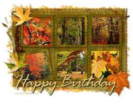 Happy Fall Birthday