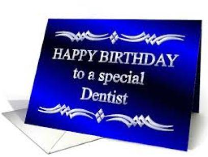 Happy Birthday To Dentist