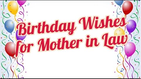 50 Birthday Wishes For Mother-In-Law