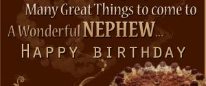 50 Birthday Wishes For Nephews