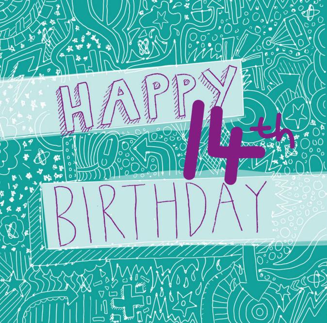 Best 14th Birthday Wishes